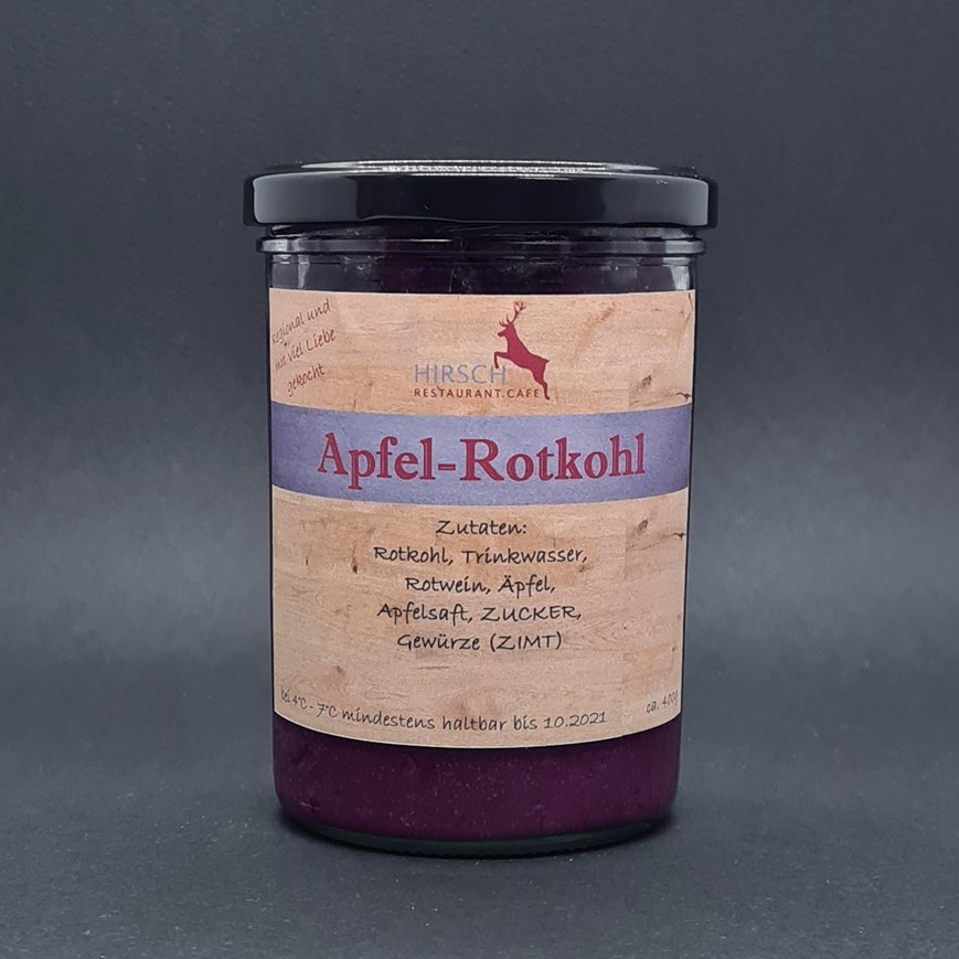 """Featured image for """"Apfel-Rotkohl"""""""