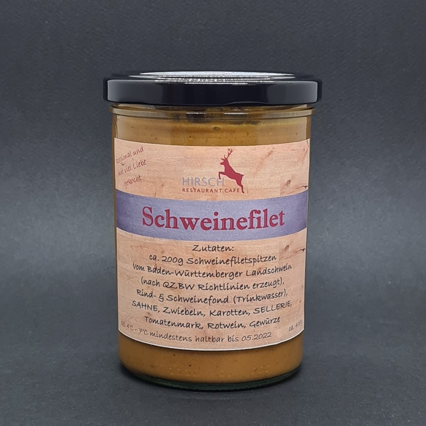 """Featured image for """"Schweinefilet in Rahmsoße"""""""